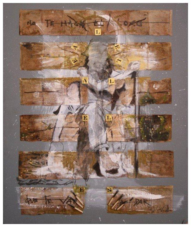 Hexagrama 04 Alejandro Niz Los Artistas y el I Ching Laura Paradiso El Pozo de Agua