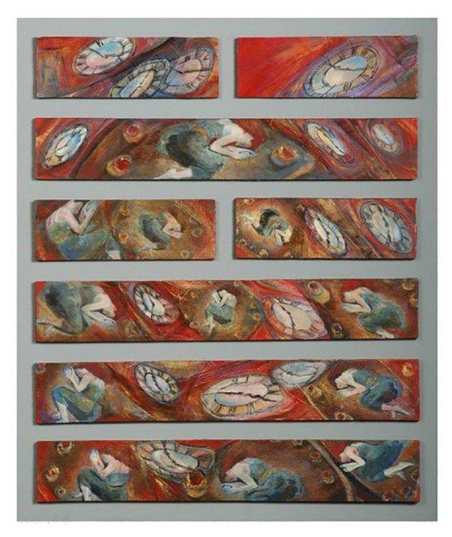 Hexagrama 05 Cristina Portela Los Artistas y el I Ching Laura Paradiso El Pozo de Agua