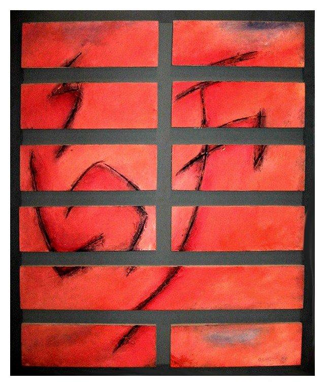 Hexagrama 07. Horacio López Gaschetto Los Artistas y el I Ching Laura Paradiso El Pozo de Agua