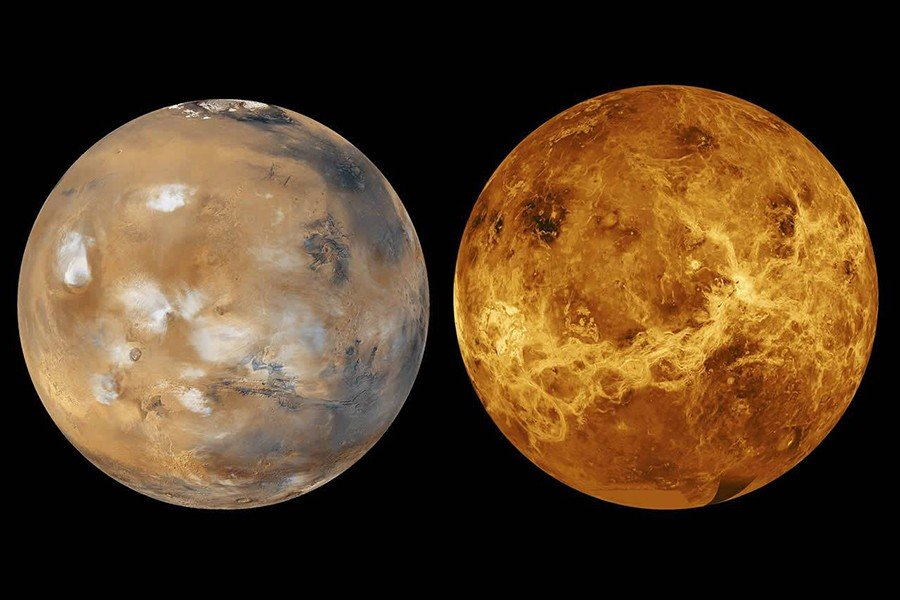 Astrología en Argentina Venus y Marte